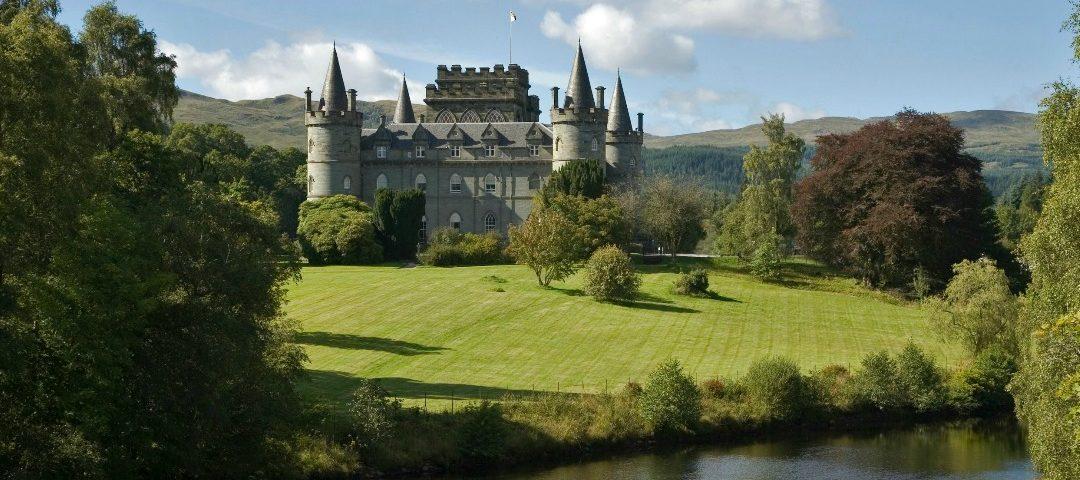 Inveraray Castle, by Loch Fyne in Argyll