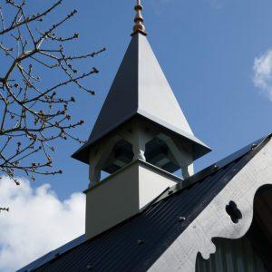 Tabernacle tun hut Loch Awe Argyll Scotland