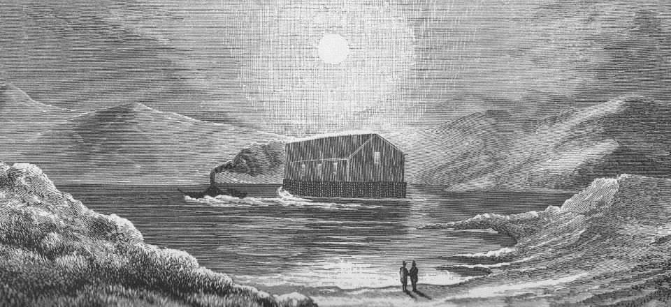 floating tabernacle church on loch sunart 1842