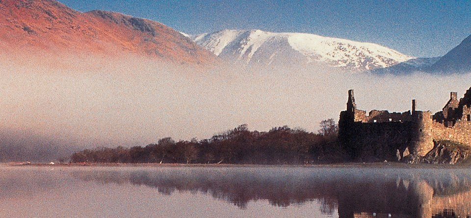 Kilchurn Castle Loch Awe Argyll Scotland