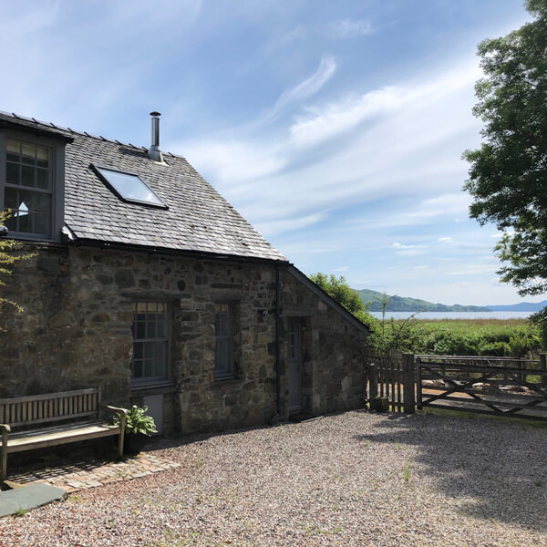 The Stable Cottage, by Loch Fyne